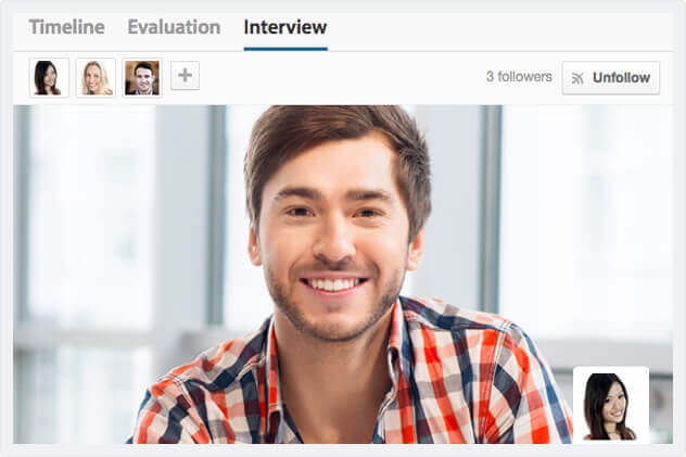 Video interview for Workable
