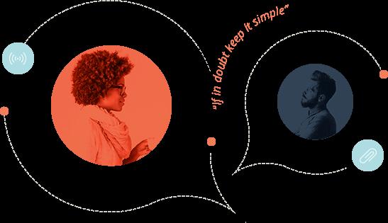 Speech bubbles: If in doubt keep it simple
